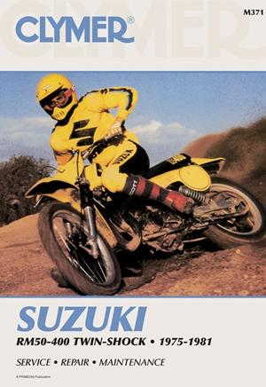 Suzuki RM50-400 Twin-Shock 75-81