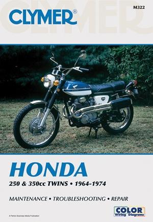 Honda 250-350cc Twins 64-74