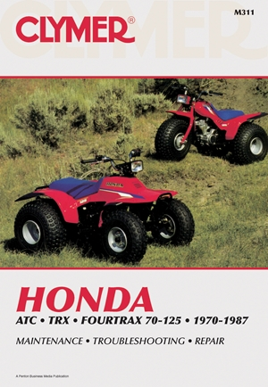 Clymer Honda ATC TRX Fourtrax 70-125, 1970-1987