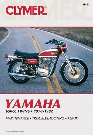 Clymer Yamaha 650cc Twins 1970-1982