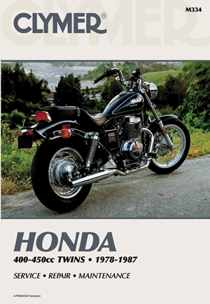 Clymer Honda 400-450cc Twins 1978-1987