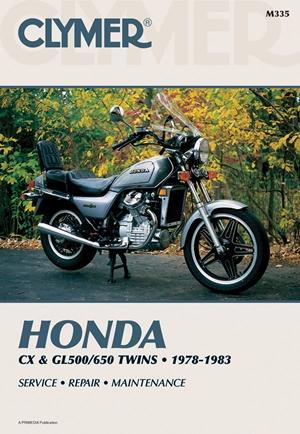 Clymer Honda CX & GL500/650 Twins, 1978-1983