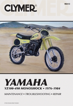 Clymer Yamaha YZ100-490 Monoshock, 1976-1984