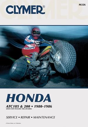 Clymer Honda ATC 185 & 200, 1980-1986
