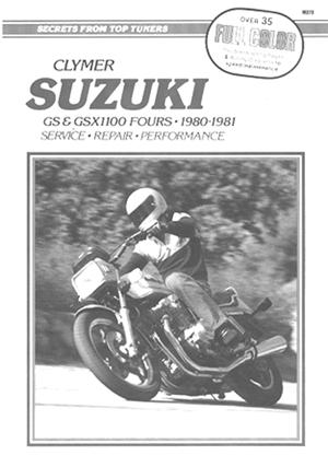Suzuki GS1100 Fours 80-81