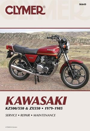 Kawasaki KZ500/550 & ZX550 79-85
