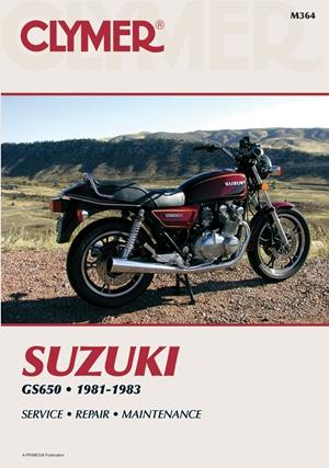 Suzuki GS650 Fours 81-83