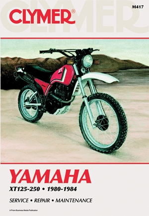 Clymer Yamaha XT125-250, 1980-1984