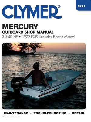 Mercury 3.5-40 HP OB 72-1989