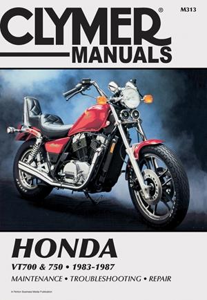 Clymer Honda Vt700 & 750, 1983-1987