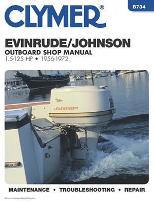 Clymer Evinrude/Johnson Outboard Shop Manual 1.5-125 HP, 1956-1972