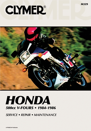 Clymer Honda 500cc V-Fours - 1984-1985 Service, Repair, Maintenance