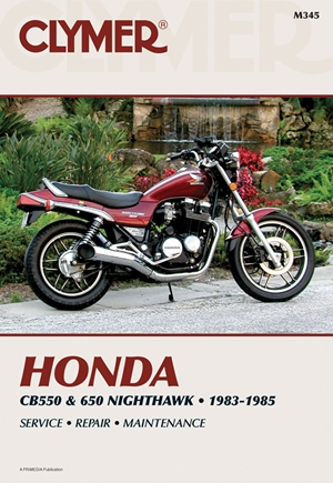 Clymer Honda CB550 & 650 Nighthawk, 1983-1985