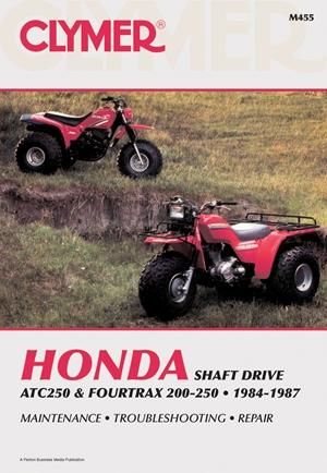 Clymer Honda ATC250 & FourTrax 200-250, 1984-1987
