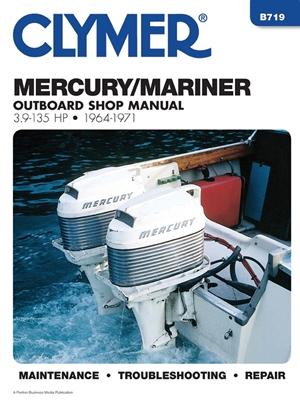 Mercury 3.9-135 HP OB 64-1971