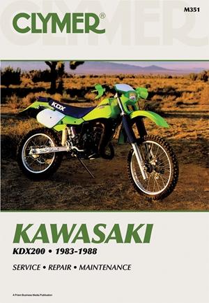 Clymer Kawasaki KDX200, 1983-1988