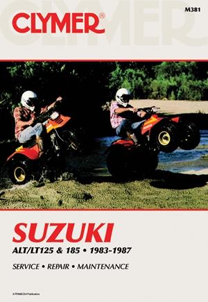 Suzuki Alt/LT125 & 185 83-87