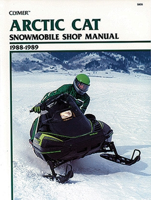 Clymer Arctic Cat Snowmobile 1988-1989: Service, Repair, Maintenance