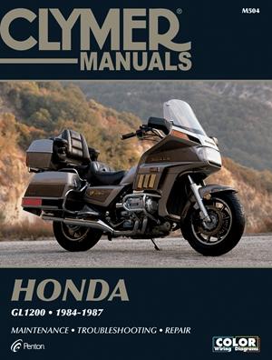 Clymer Honda GL1200, 1984-1987