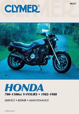 Clymer Honda 700-1100Cc V-Fours 1982-1988