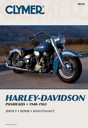 Clymer Harley-Davidson H-D Panheads 1948-1965