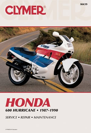 Clymer Honda 600 Hurricane 87-90: Service, Repair, Maintenance