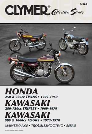 Clymer Collection Series: Vintage Japanese Street Bikes