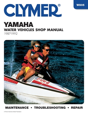 Clymer Yamaha Water Vehicles Shop Manual 1987-1992