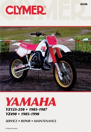 Clymer Yamaha YZ125-490, 1985-1990