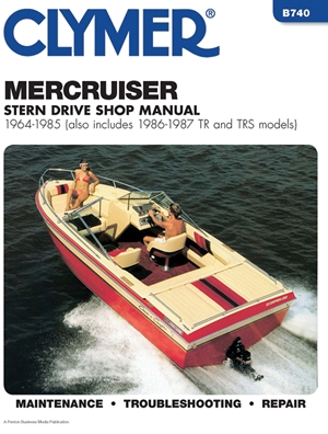MercCruiser Stern Drv 64-1985
