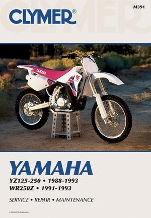 Clymer Yamaha YZ125-250; WR250Z, 1988-1993