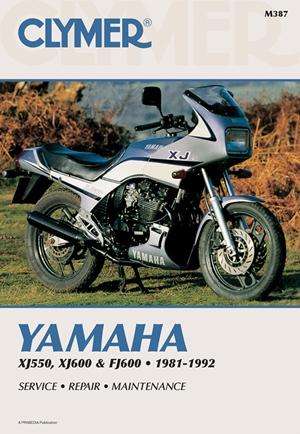 Clymer Yamaha XJ550, XJ600 & FJ600 1981-1992