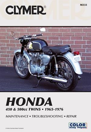Honda 450 & 500cc Twins 65-77