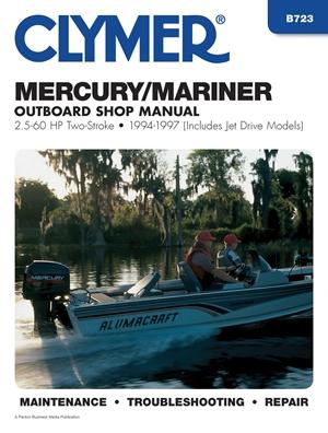 Mercury Marine 2.5-60 HP OB 94-97