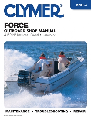 Clymer Workshop Manual Mercury//Mariner 4-90 HP Four Stroke Outboards 1995-2006