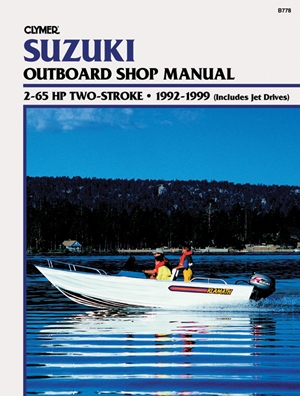 Evinrude//Johnson 2-70 HP 2-Stroke Outboard Clymer Manual Jet Drive 1995-2007