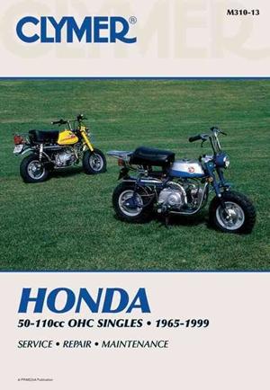 Clymer Honda 50-110cc OHC Singles, 1965-1999