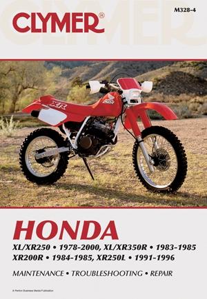 Honda XL/XR250 1978-2000, XL/XR350R 1983-1985, XR200R