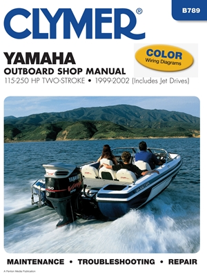 Yamaha 100-250 hp Two-Stroke Outboards 1999-2002