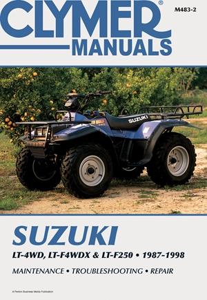 Suzuki LT-4WD, LT-WDX & LT-F250 1987-1998