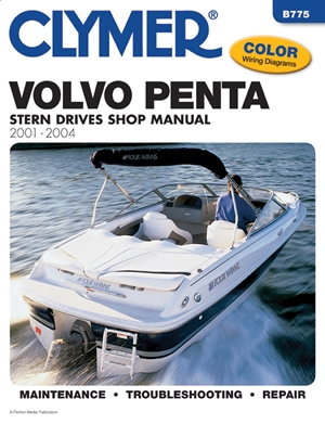 Volvo Penta Stern Drive Shop Manual 2001-2004