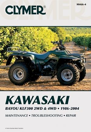 Kawasaki Bayou KLF300 2WD & 4WD