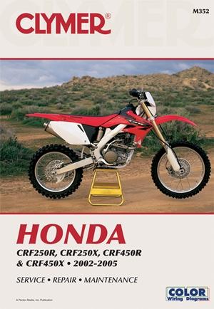 Honda  CRF250R (2004), CRF250X (2004) AND CRF450R 2002-2004