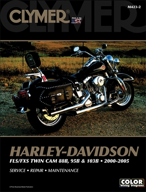 Harley-Davidson FLS/FXS 88 and 103B 2000-2005