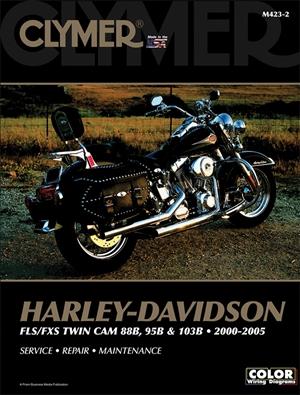 Harley-Davidson FLS/FXS 88 and 103B 2000-2005