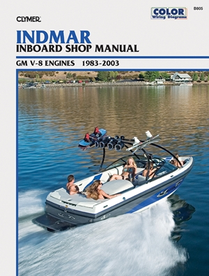 Indmar Inboard Shop Manual GM V-8 Engines 1983-2003
