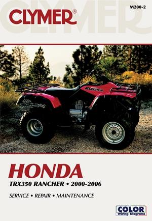 Honda TRX350 Rancher 00-06