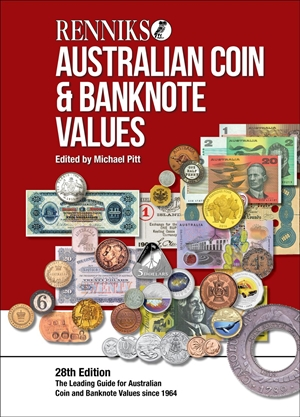 Renniks Australian Coin & Banknote Valuations (Hardcover)