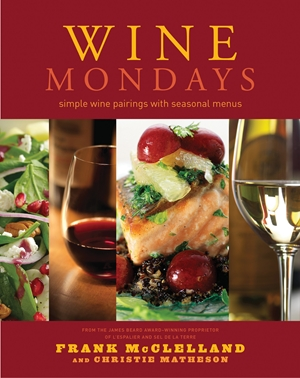 Wine Mondays Simple Wine Pairings and Seasonal Menus