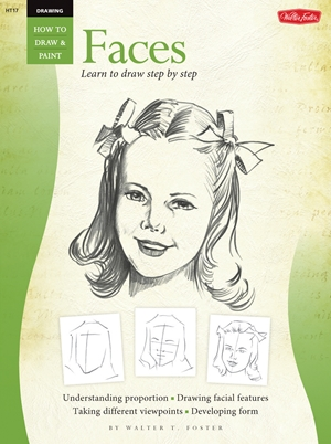 Drawing: Faces Learn to paint step by step